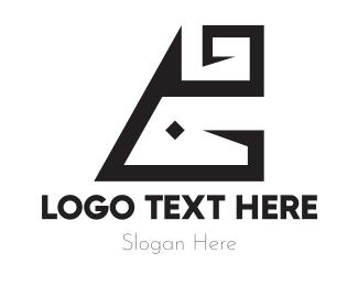 Black Letter G Logo
