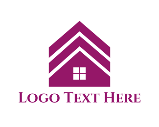 Roof - House Roof logo design