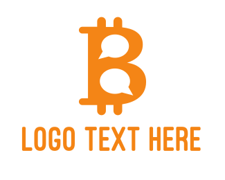 Meetup - Bitcoin Chat logo design