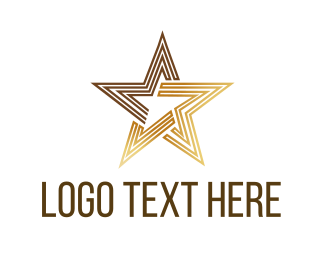 Bollywood - Luxury Star logo design