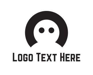 Letter C - Man & Letter C logo design