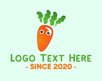 Healthy - Baby Carrot logo design