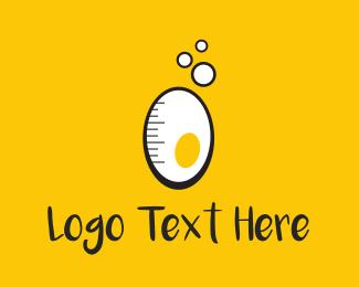 Egg - Eggsperiment logo design