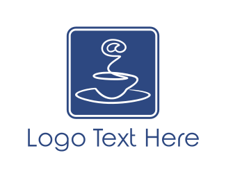 Net - Internet & Coffee logo design
