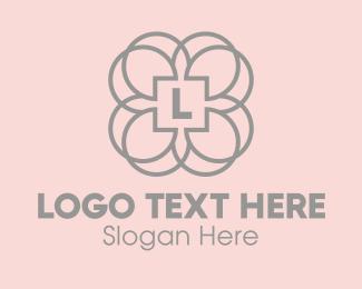 Decor - Floral Emblem logo design