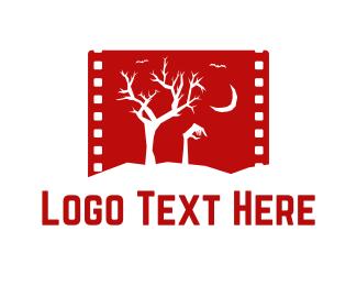 Zombie - Horror Movie logo design