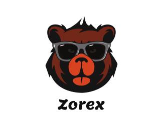 Cool - Cool Bear Face logo design