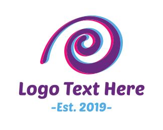 """Purple Snail"" by LogoBrainstorm"