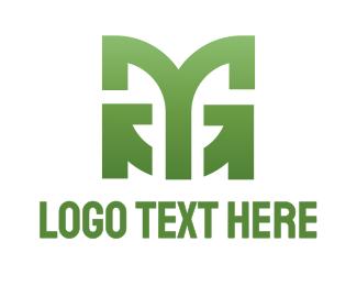 Corporation - Abstract MG logo design