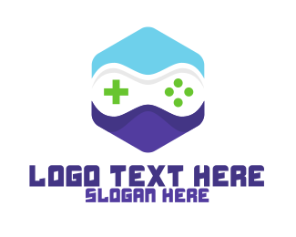 """""""Blue Violet Hexagon Gaming"""" by Town"""