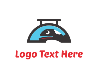 Tray - Whale Food logo design