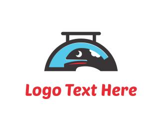 Fast Food - Whale Food logo design