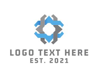 Jewish - Tech Star logo design