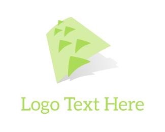 Land - Green Mountains logo design