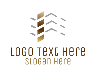Urban - Roof Construction logo design