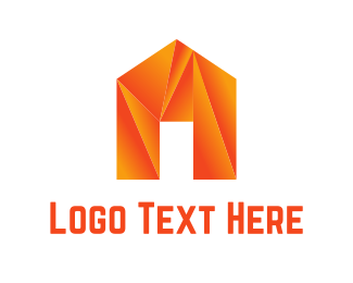 Realtor - Origami House logo design