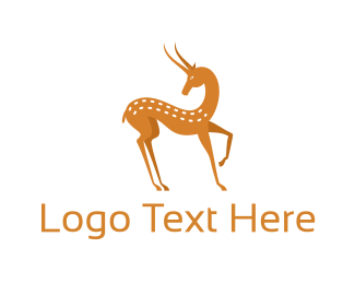 Reindeer - Forest Deer logo design