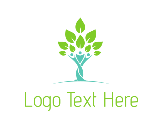 Parent - Tree People logo design