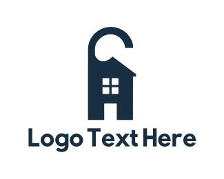 Resort - House Hangtag logo design