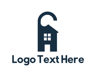 Rental - House Hangtag logo design