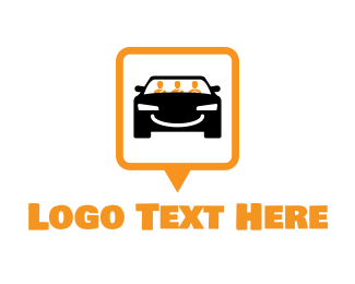 Ride - Carpool Finder logo design