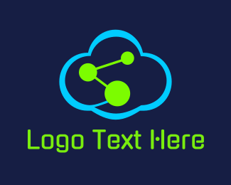 Chemical - Science Cloud logo design