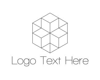 Wordpress - Geometric Hexagon logo design