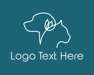 Pet - Pet & Flower logo design