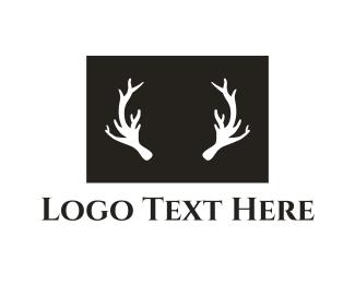 Deer - Deer Antlers logo design