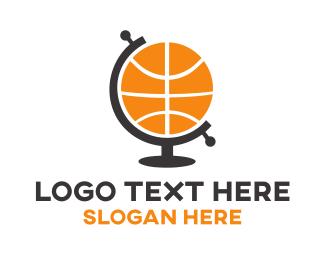 """Basketball Globe "" by shad"