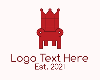 Moscow - Red Throne logo design