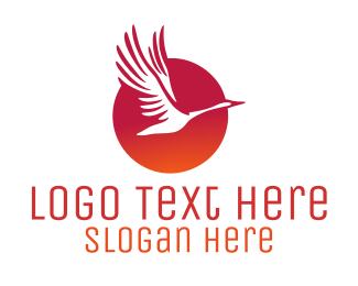 Business - Sunrise Bird logo design