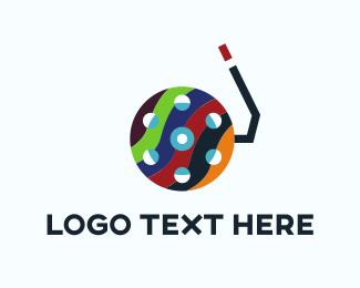 Tube - Aquatic Reel logo design
