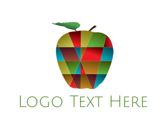 Mosaic - Apple Mosaic logo design