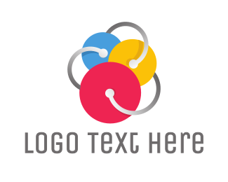 Design Firm - Triple Circle Disc logo design