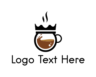 King - Coffee King logo design