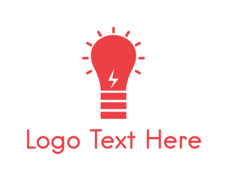 Services - Red Bulb logo design