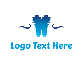 Tooth - Abstract Tooth logo design