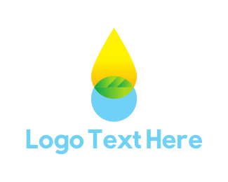 Oil - Oil Drop logo design
