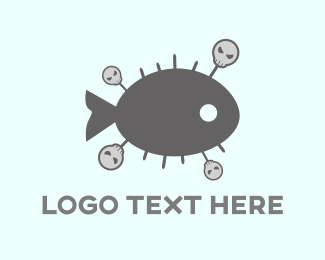 Pool - Voodoo Fish logo design