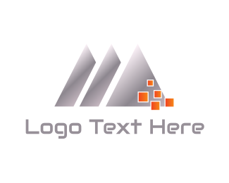 Manufacturer - Silver Triangles logo design
