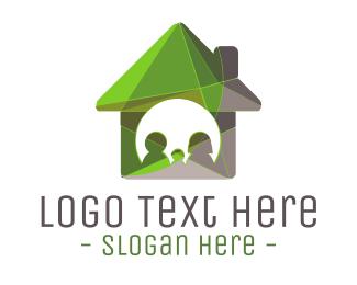 Mortgage Broker - Green House logo design