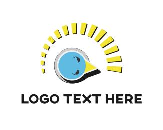 Measure - Bird Indicator logo design