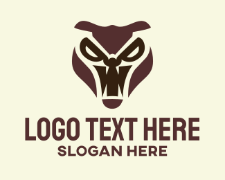 Fang - Furious Animal logo design