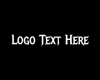 Horror - Heavy Metal logo design