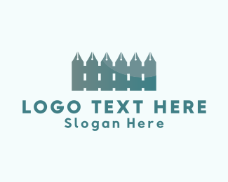 Pen - Pen Fence logo design