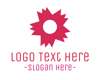 Blossom - Star Flower logo design