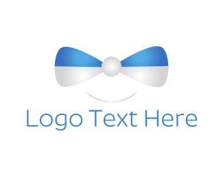 Bow - Happy Bow Tie logo design