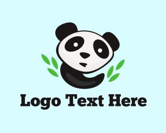 Bamboo - Panda & Bamboo logo design