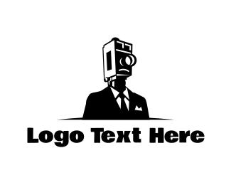 Photographer - Elegant Cameraman logo design